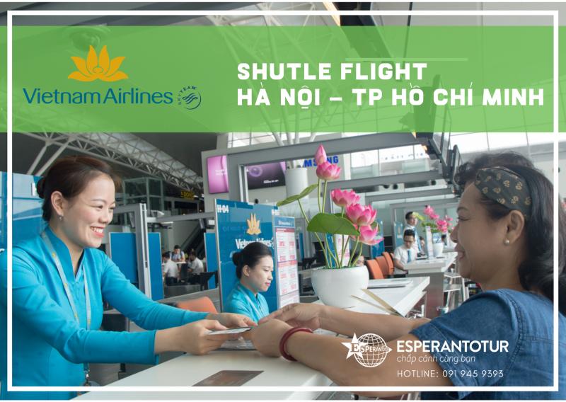CHÀO NĂM MỚI 2020 VỚI SẢN PHẨM MỚI CỦA VIETNAM AIRLINES - SHUTTLE FLIGHT GIỮA HÀ NỘI VÀ TP HỒ CHÍ MINH