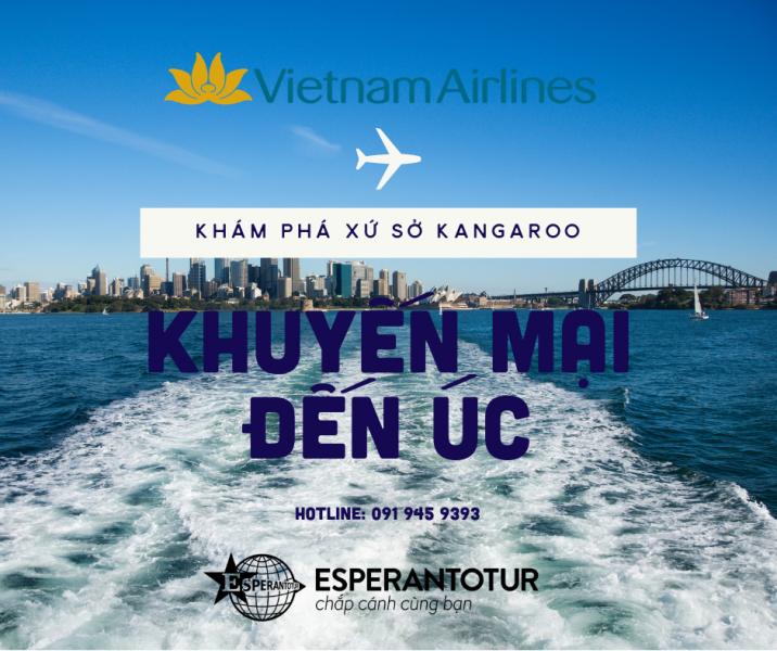 KHÁM PHÁ XỨ SỞ KANGAROO CÙNG VIETNAM AIRLINES