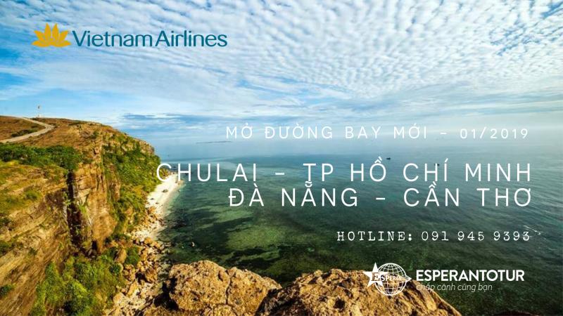 VIETNAM AIRLINES KHAI TRƯƠNG ĐƯỜNG BAY MỚI TỪ MIỀN TRUNG
