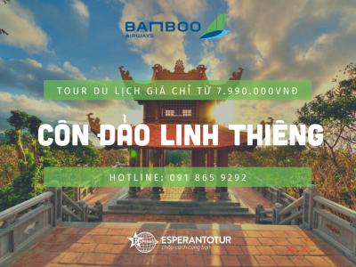 CÔN ĐẢO LINH THIÊNG BAY CÙNG BAMBOO AIRWAYS