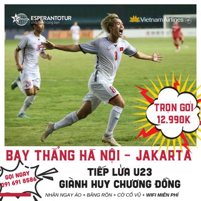 SỐNG CÙNG ASIAD- BAY THẲNG JAKARTA - ỦNG HỘ U23 VIỆT NAM